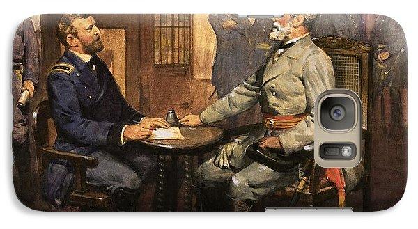 General Grant Meets Robert E Lee  Galaxy S7 Case