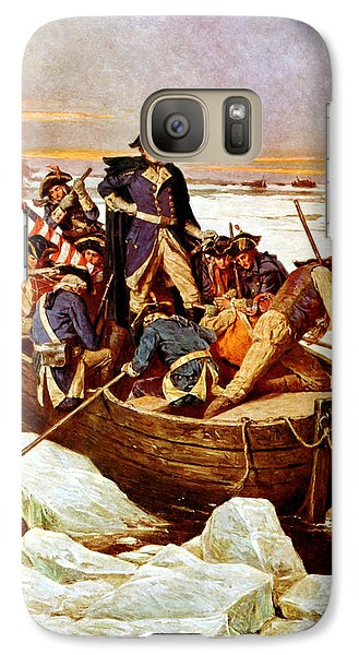 General Washington Crossing The Delaware River Galaxy Case by War Is Hell Store