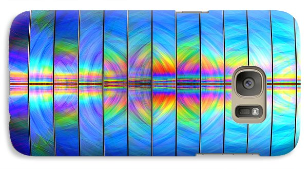 Galaxy Case featuring the digital art Genesis by Andreas Thust