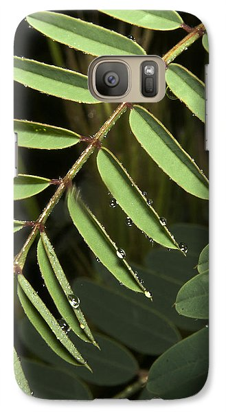 Galaxy Case featuring the photograph Gentle Morning Dew by Karen Musick
