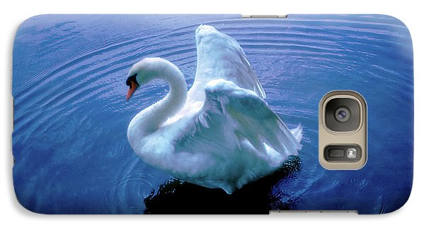 Galaxy Case featuring the photograph Gentle Strength by Marie Hicks