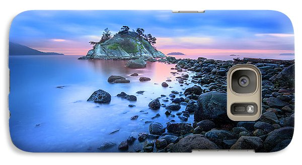 Galaxy Case featuring the photograph Gentle Sunrise by John Poon