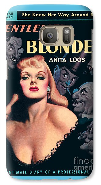 Galaxy Case featuring the painting Gentlemen Prefer Blondes by Earle Bergey