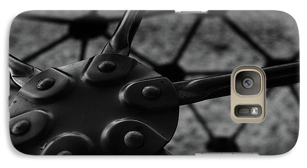 Galaxy Case featuring the photograph Geodome Climber 2 by Richard Rizzo