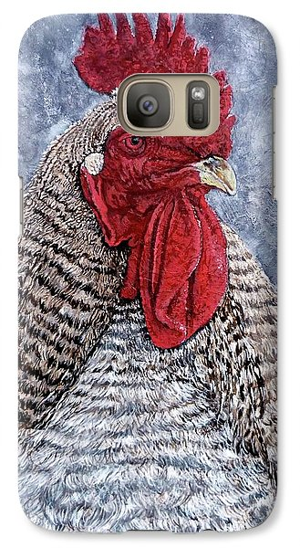 Galaxy Case featuring the painting Geoff by Tom Roderick