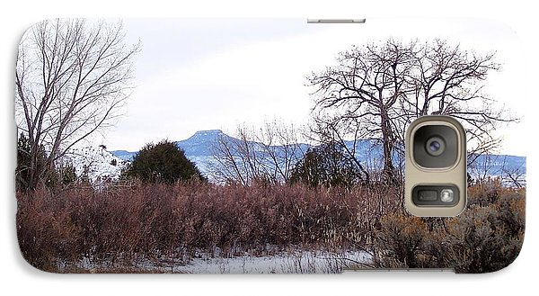 Geogia O'keefe's Pedernal Mountain Galaxy S7 Case