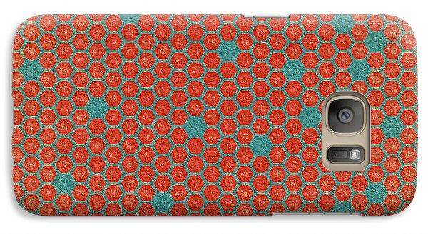 Galaxy Case featuring the digital art Geometric 1 by Bonnie Bruno