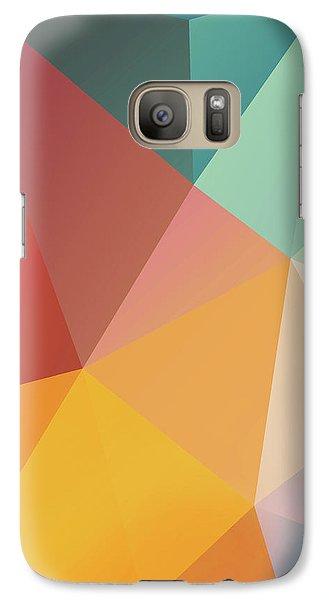 Galaxy S7 Case - Geometric Xxix by Ultra Pop