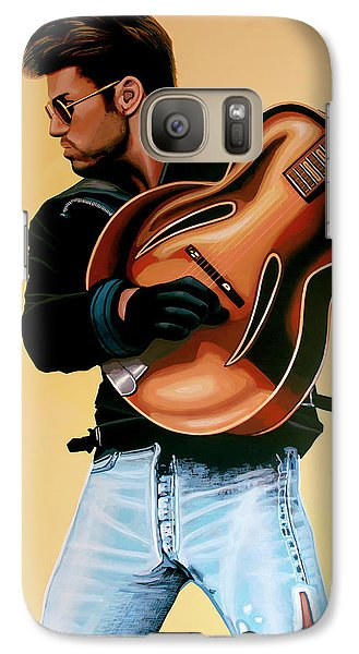 George Michael Painting Galaxy S7 Case