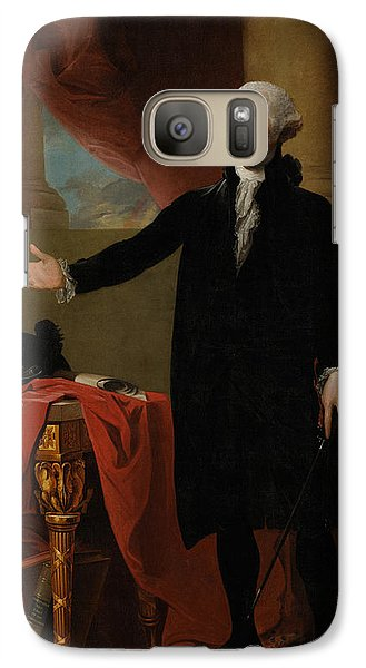 George Washington Lansdowne Portrait Galaxy S7 Case by War Is Hell Store