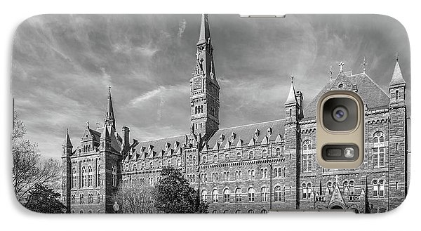 Georgetown University Healy Hall Galaxy S7 Case by University Icons