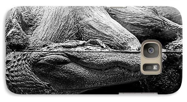 Galaxy Case featuring the photograph Georgia Gator by Dan Wells