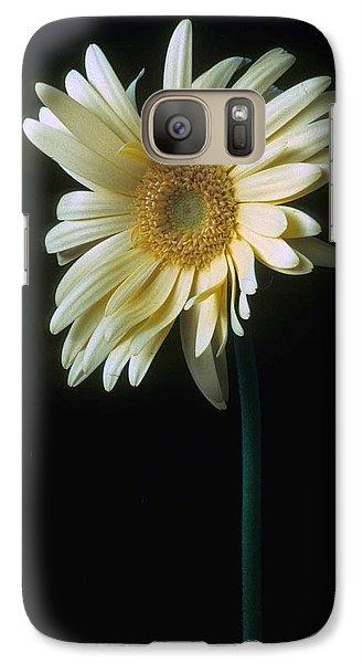 Daisy Galaxy S7 Case - Gerber Daisy by Laurie Paci