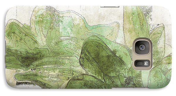 Galaxy Case featuring the digital art Gerberie - 30gr by Variance Collections