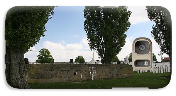 German Bunker At Tyne Cot Cemetery Galaxy S7 Case
