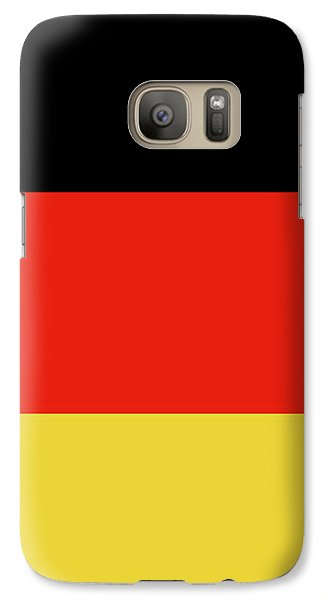 Galaxy Case featuring the digital art German Flag by Bruce Stanfield