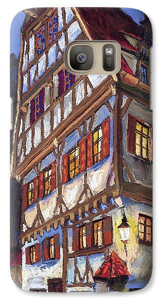 Architecture Galaxy S7 Case - Germany Ulm Old Street by Yuriy Shevchuk
