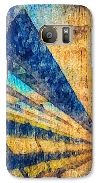 Galaxy Case featuring the photograph Get To The Point by William Wyckoff