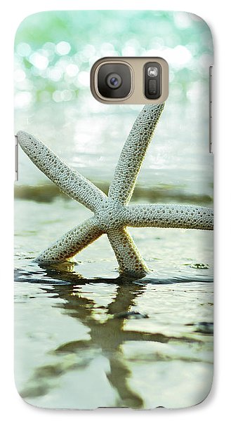 Galaxy Case featuring the photograph Get Your Feet Wet by Laura Fasulo