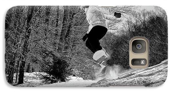 Galaxy Case featuring the photograph Getting Air On The Snowboard by David Patterson