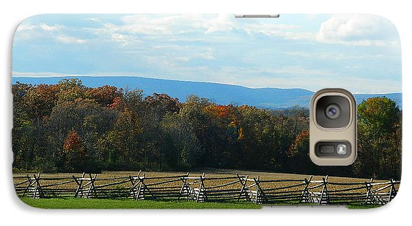 Galaxy Case featuring the photograph Gettysburg Battlefield And Beyond by Emmy Marie Vickers