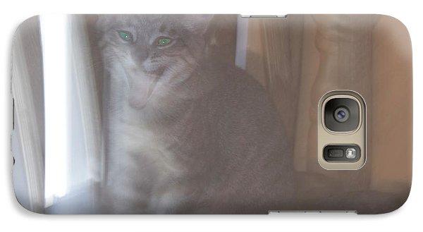 Ghost Cat Galaxy S7 Case by Yulia Kazansky