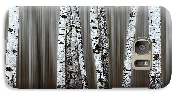 Galaxy Case featuring the photograph Ghost Forest 1 by Bob Christopher