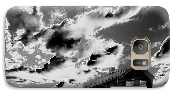 Galaxy Case featuring the photograph Ghost House by Jim and Emily Bush