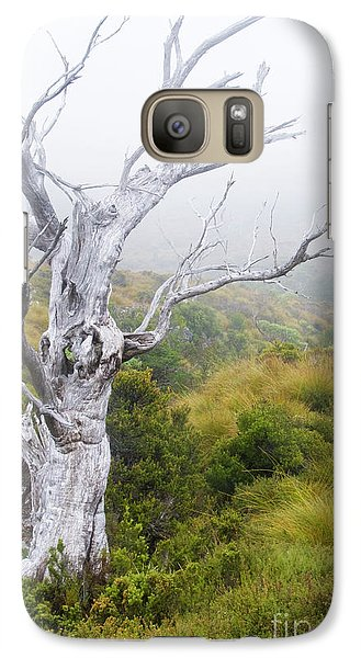 Galaxy Case featuring the photograph Ghost by Werner Padarin