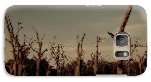 Galaxy Case featuring the photograph Ghostly Trees by Douglas Barnard