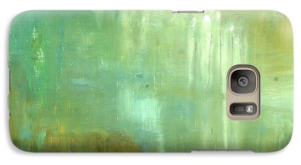 Galaxy Case featuring the painting Ghosts In The Water by Michal Mitak Mahgerefteh