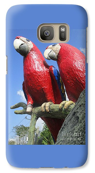 Giant Macaws Galaxy S7 Case