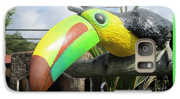 Giant Toucan Galaxy Case by Randall Weidner