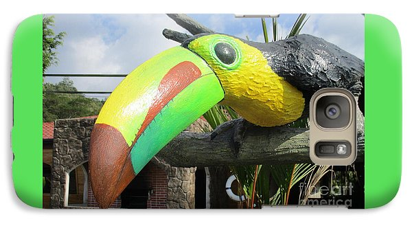 Giant Toucan Galaxy S7 Case by Randall Weidner