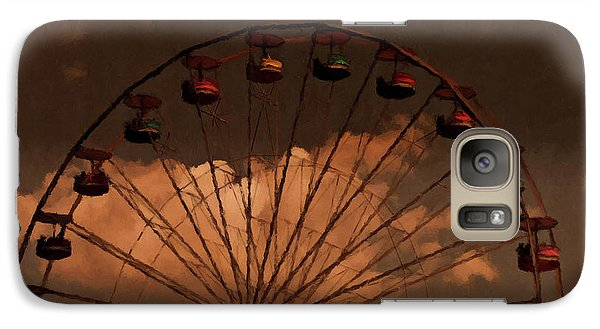 Galaxy Case featuring the photograph Giant Wheel by David Dehner