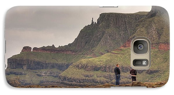 Galaxy Case featuring the photograph Giants Causeway by Ian Middleton