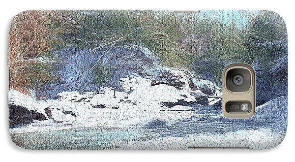 Galaxy Case featuring the digital art Gibou Falls by John Selmer Sr