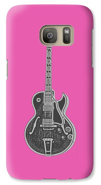 Gibson Es-175 Electric Guitar Tee Galaxy S7 Case