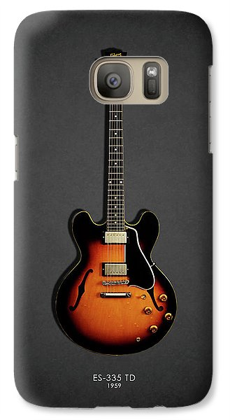 Jazz Galaxy S7 Case - Gibson Es 335 1959 by Mark Rogan