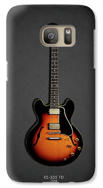 Music Galaxy S7 Case - Gibson Es 335 1959 by Mark Rogan