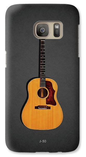 Jazz Galaxy S7 Case - Gibson J-50 1967 by Mark Rogan