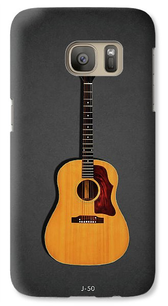 Music Galaxy S7 Case - Gibson J-50 1967 by Mark Rogan