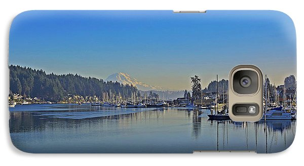 Galaxy Case featuring the photograph Gig Harbor, Wa by Jack Moskovita