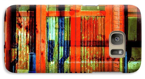 Galaxy Case featuring the photograph Gimmie A Sign by Wayne Sherriff