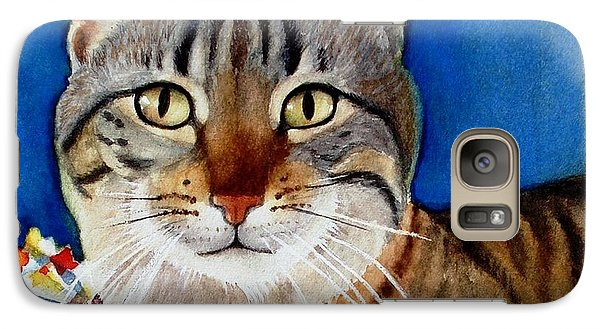 Galaxy Case featuring the painting Ginger by Marilyn Jacobson