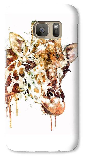 Giraffe Head Galaxy S7 Case