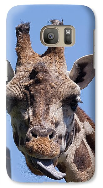 Galaxy Case featuring the photograph Giraffe by JT Lewis