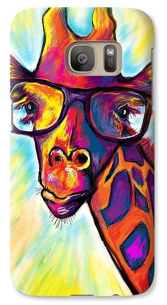Giraffe Galaxy Case by Julianne Black