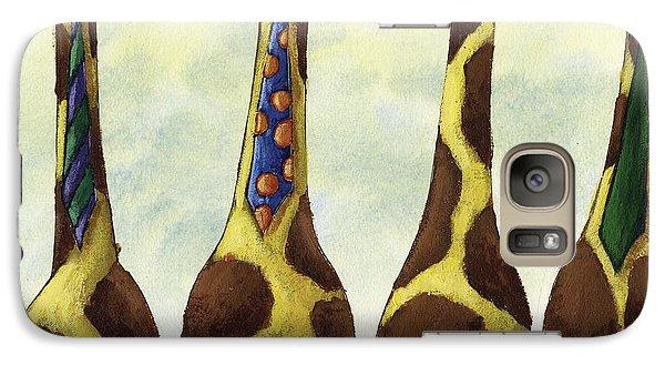 Giraffe Neckties Galaxy S7 Case