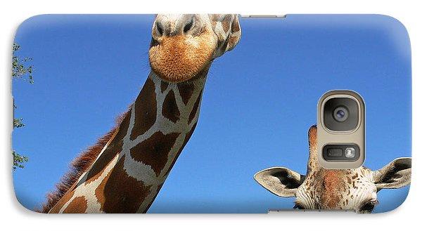 Giraffes Galaxy S7 Case
